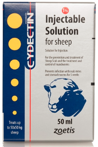 Cydectin Injectable Solution for Sheep