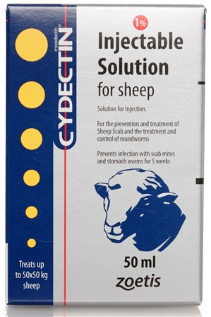 Cydectin 1 Injection For Sheep Zoetis Ie